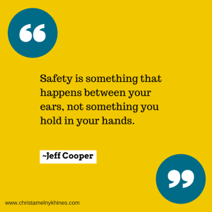 Safety is something that happens between (1)