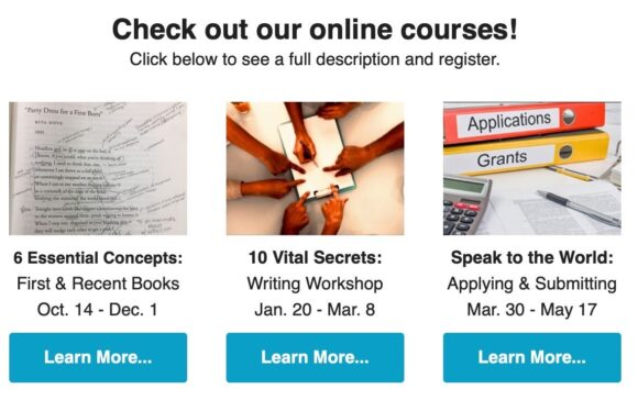 Looking for our Online Courses?