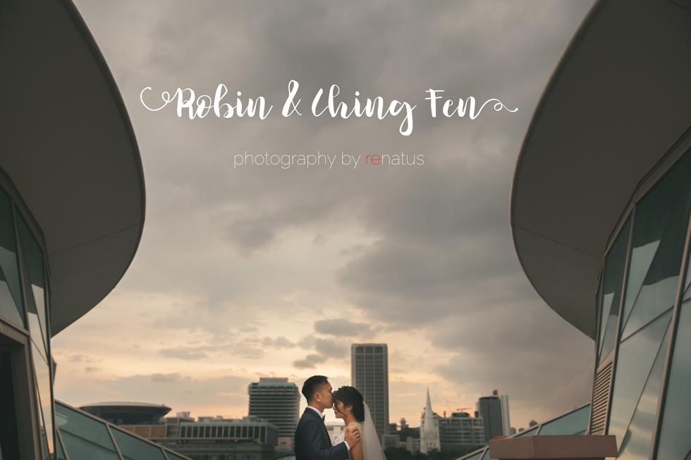Robin & Ching Fen Pre Wedding Bridal Photography Singapore