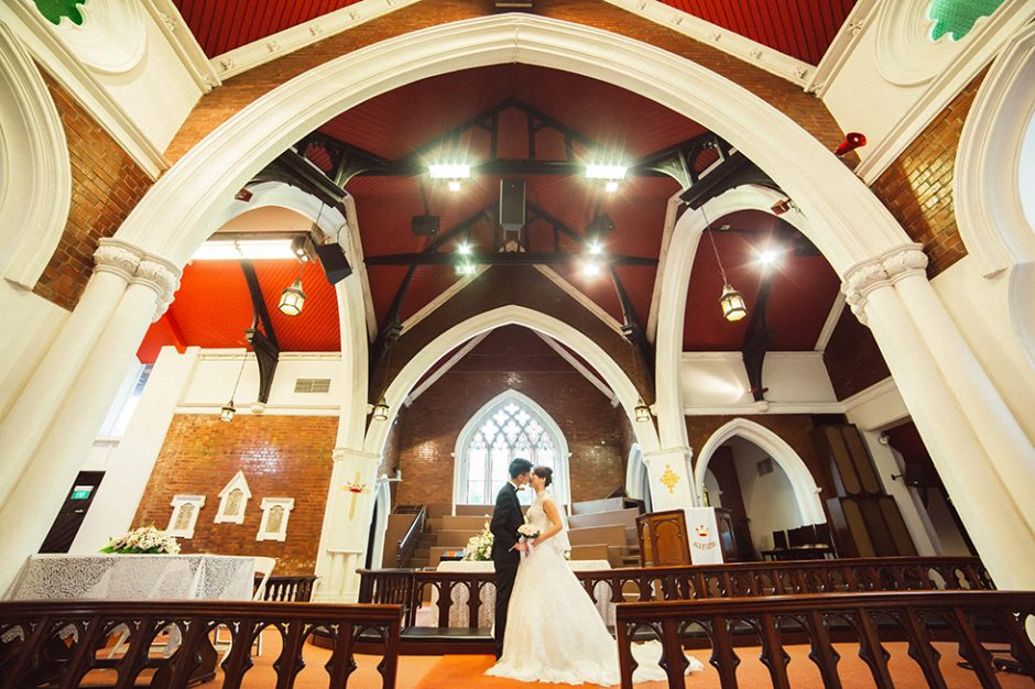 Ming Xuan & Stephanie Actual Day Wedding Singapore