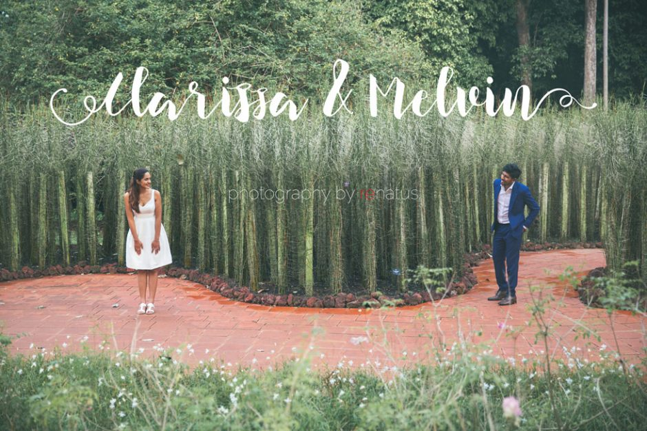 Melvin & Clarissa Pre Wedding Bridal Photography Singapore