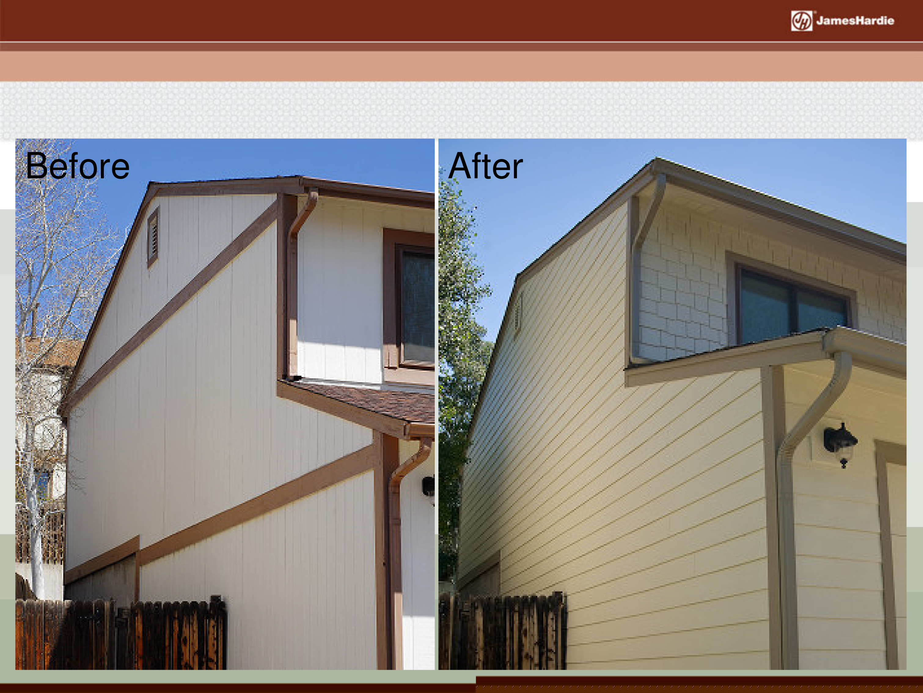 Before and After James Hardie Siding 23