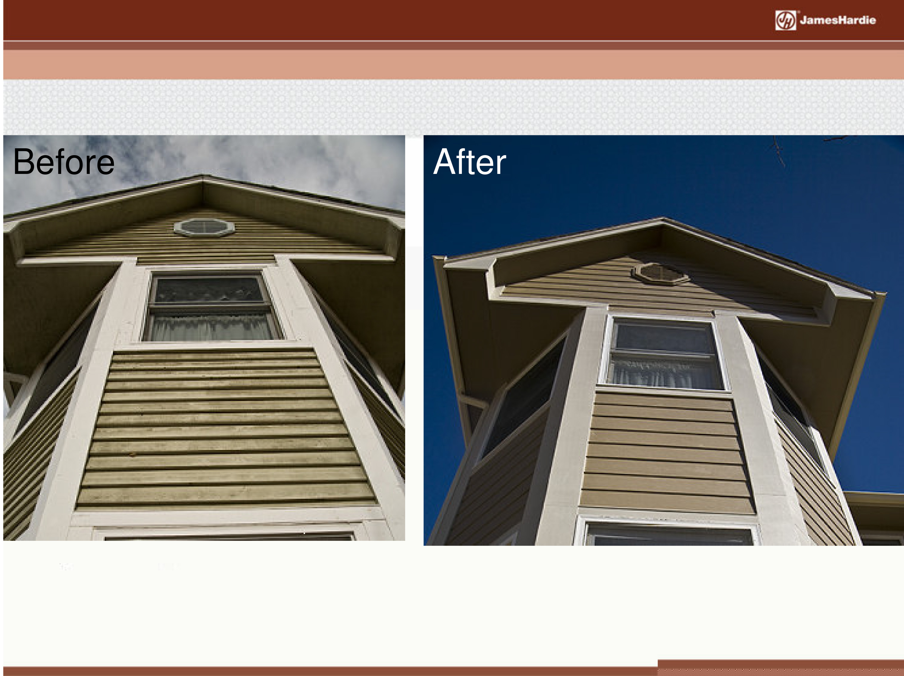 Before and After James Hardie Siding 4