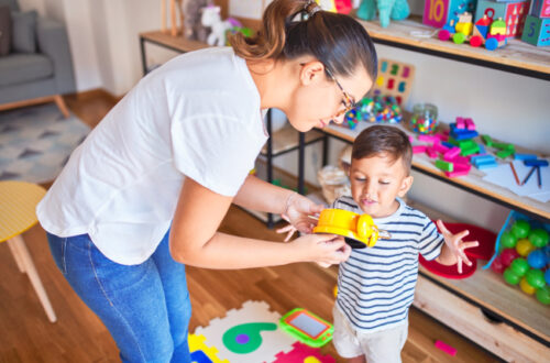 At-home toddler learning exercises