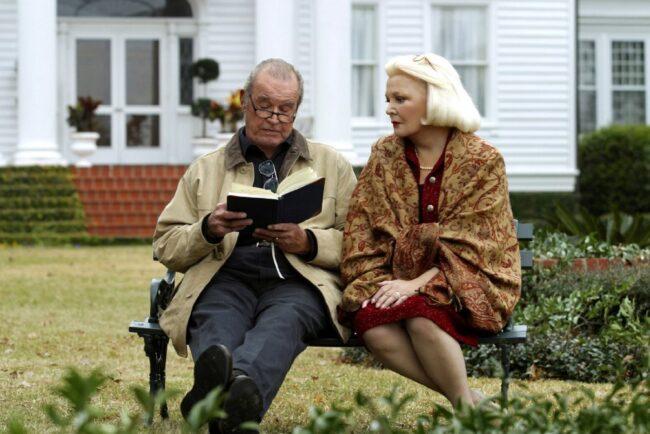 Elderly version of Allie and Noah