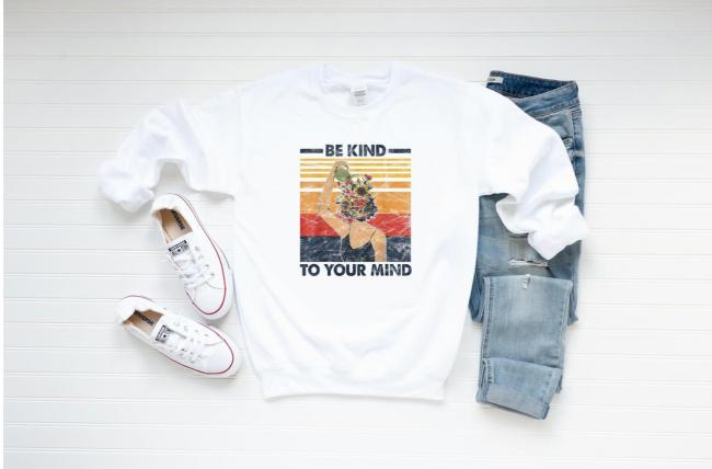FerrisBuilt Be Kind To Your Mind Sweatshirt