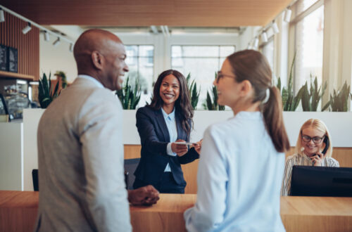 Concierge services for employees