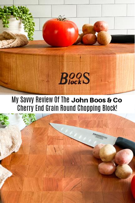 John Boos & Co Cherry Butcher Block