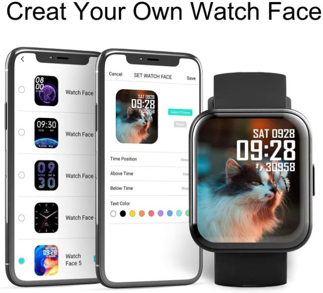 MISIRUN Smart Watch