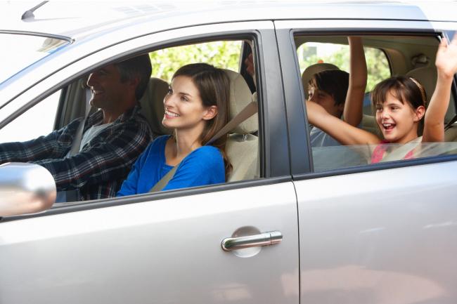 road trip in a van