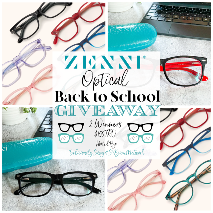 Zenni Back to School Giveaway