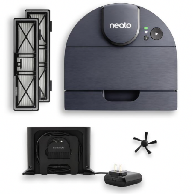 Cleaning your home with the Neato D8