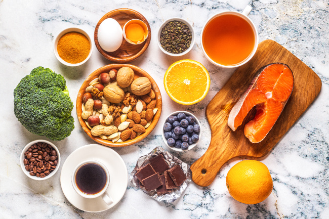 Healthy foods and beverages