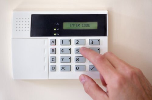 Alarm system for the home