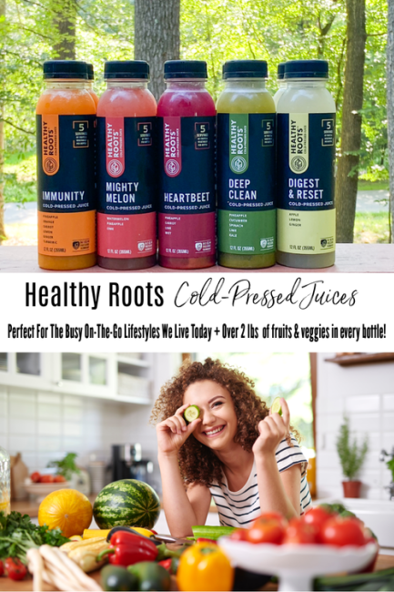 Healthy Roots Cold Pressed  Juices Pinterest Pin