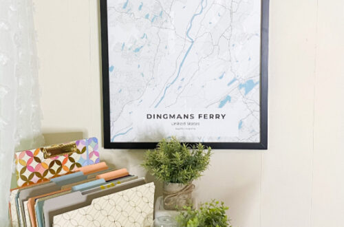 City Map from Craft & Oak