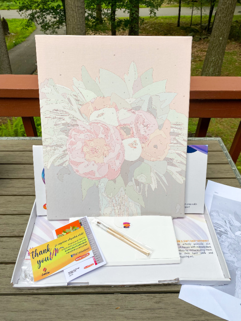 Craft-Ease Paint By Numbers Kit