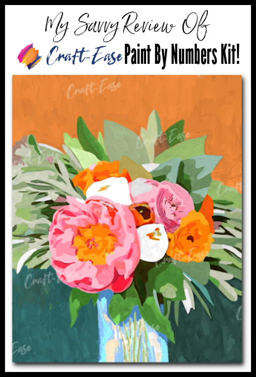 Craft-Ease Paint By NUmbers Pin