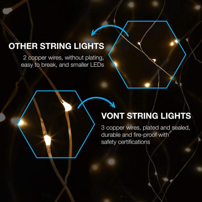 Vont Fairy String Lights