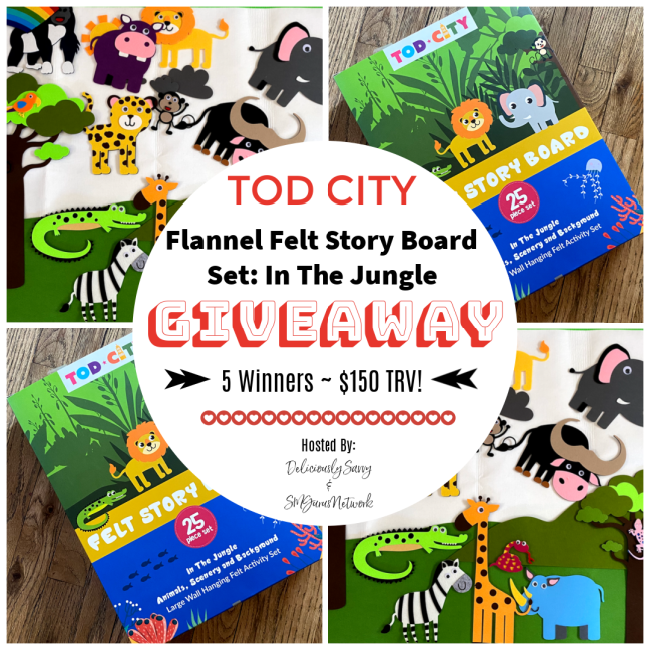 Tod City Giveaway