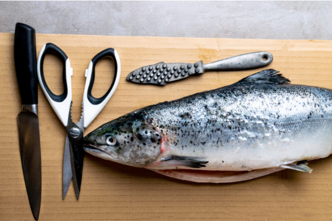 how to prepare fish for cooking