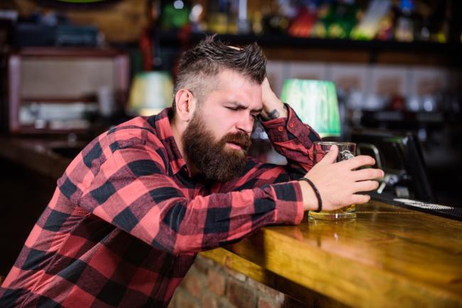 slip and fall at the bar