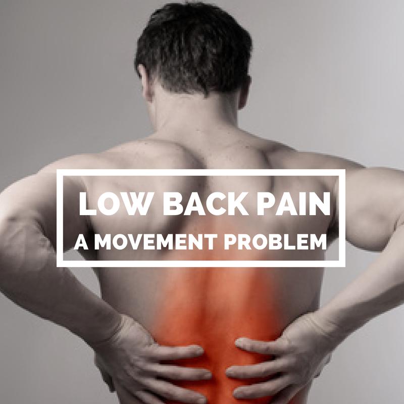 Low Back Pain – A Movement Problem