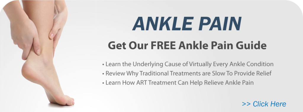 treating ankle with with Active Release