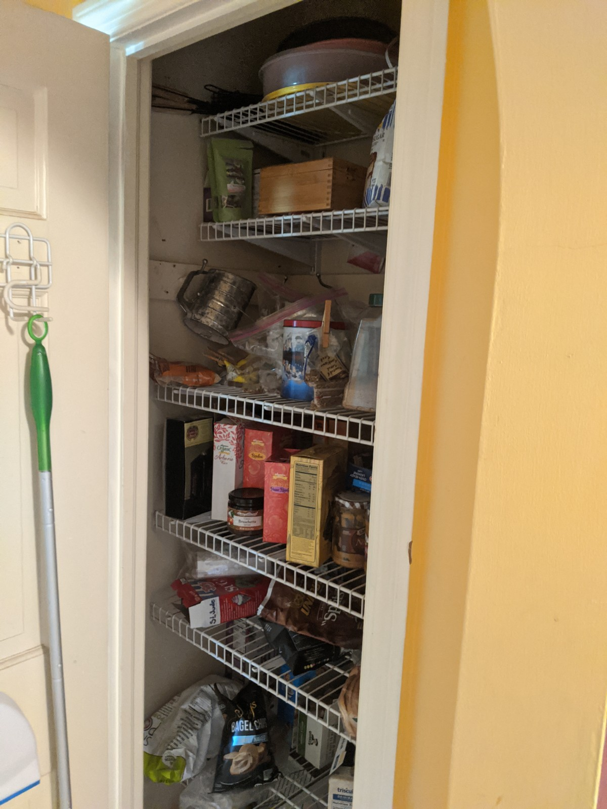 Before pantry area