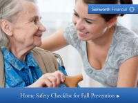 Home Safety Checklist for Fall Prevention, Preventing Falls, Preventing Falls at home, elderly falls, Genworth Financial