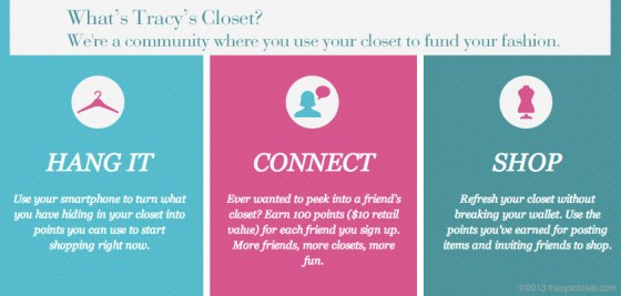 Earn Points and Shop for Free at Tracy's Closet