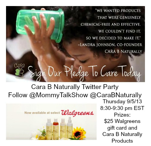 Cara B Naturally Twitter Party