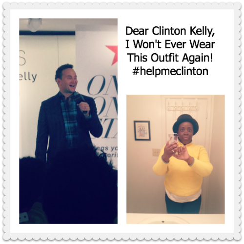 Dear Clinton Kelly, I Won't Wear This Outfit Again #helpmeclinton~MommyTalkShow.com