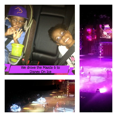 We Drove the Mazda 6 to Disney on Ice ~ MommyTalkShow.com