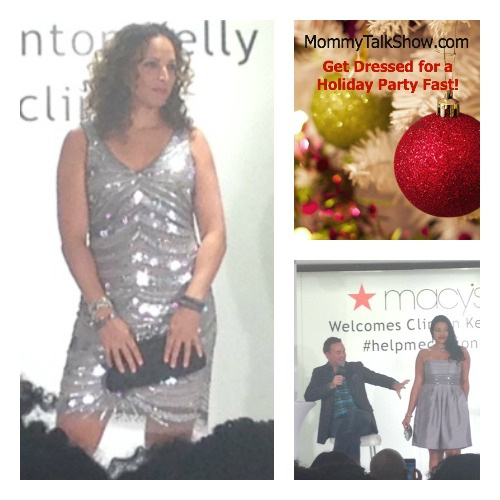 Get Dressed for a Holiday Party Fast ~ MommyTalkShow.com