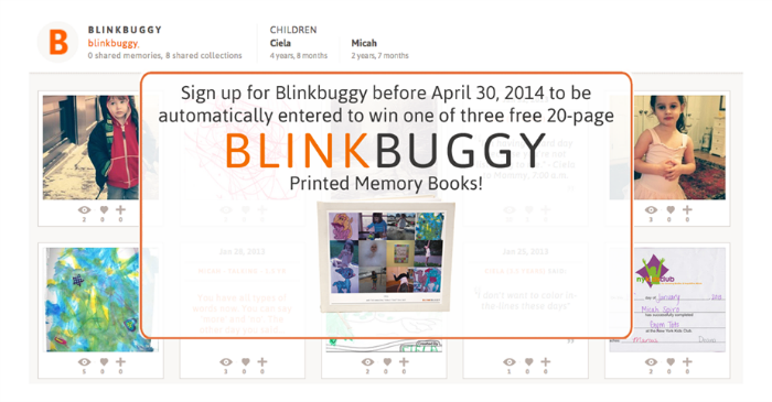 Blinkbuggy Lets Parents Organize Family Memories and Photos
