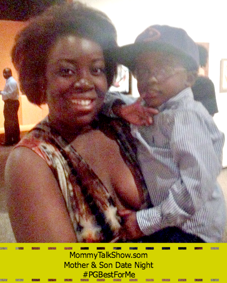 Mother and Son Date Night #PGBestForMe ~ MommyTalkShow.com