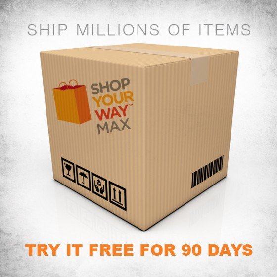 Shop your way Max Free for 90 days ~ MommyTalkShow.com