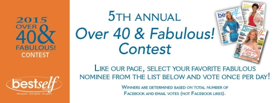 2015 Over 40 and Fabulous Atlanta Contest: Vote Daily for Joyce Brewer ~ MommyTalkShow.com