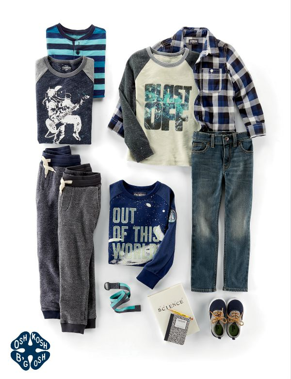 OshKosh B'Gosh Back to School Finds for Boys & $50 Gift Card Giveaway #backtogosh
