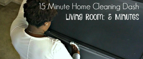 15 Minute Home Cleaning