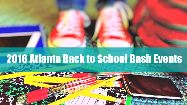 Atlanta Back to School Bash