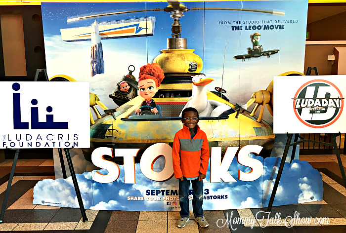 A.J. at Storks Movie