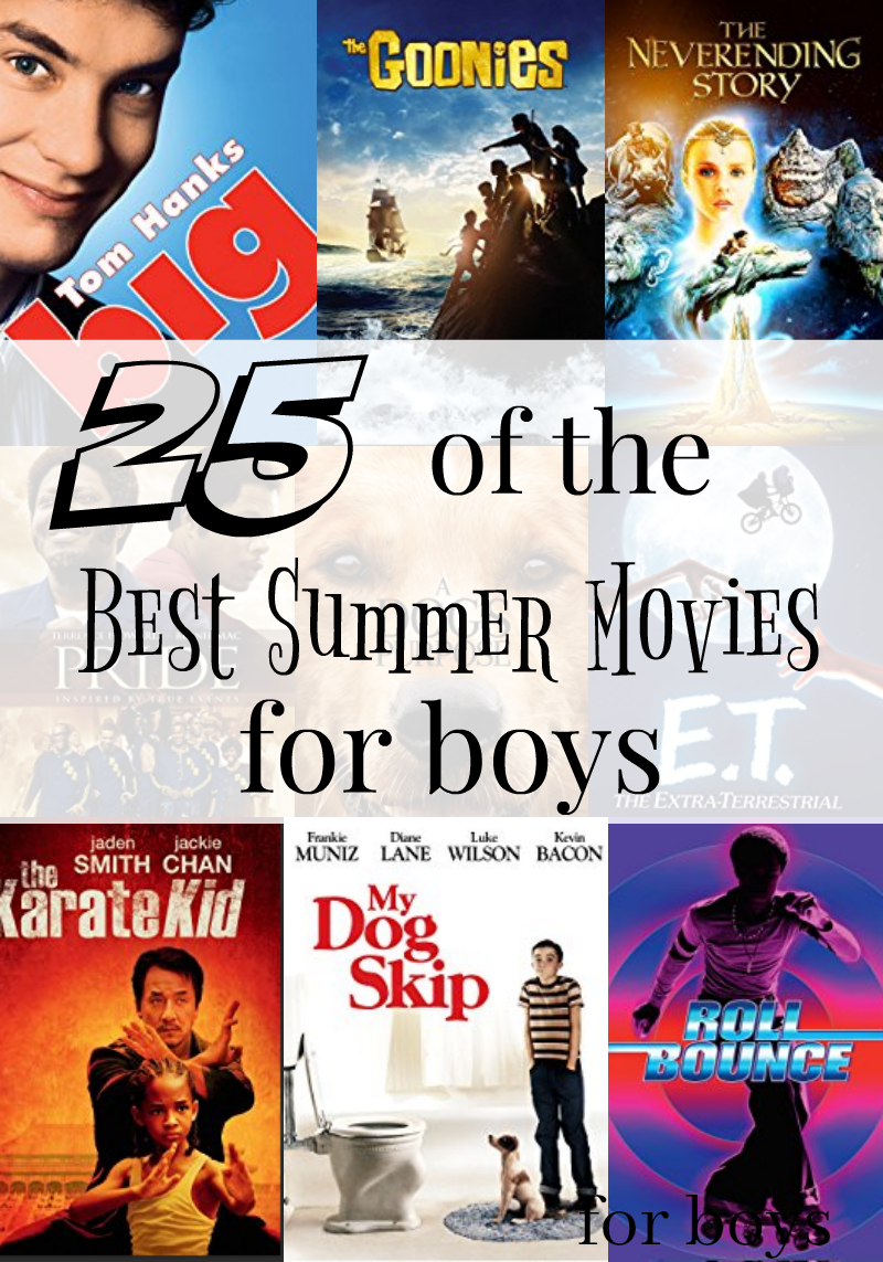 25 of the best summer movies for boys
