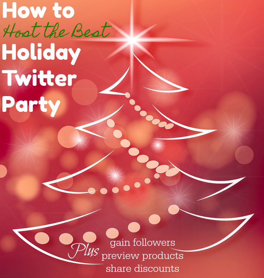 How to Host the Best Holiday Twitter Party & Gain Followers
