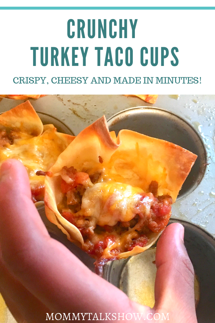 Crunchy Turkey Taco Cups REcipe