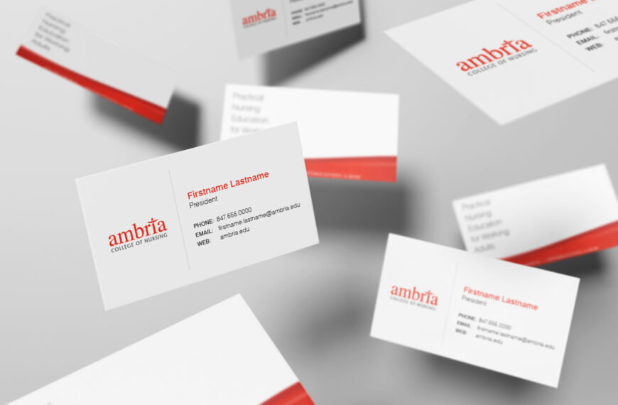 Higher Education Business Cards