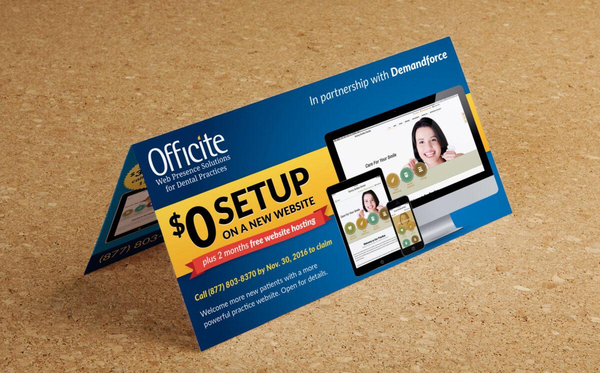 Direct mail mockup