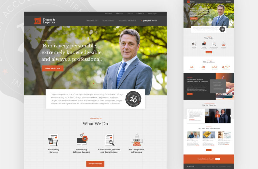 Protected: Accounting Firm Website