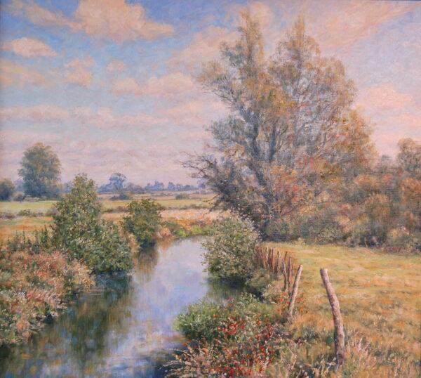 Narrow river